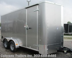 #13961 - 2017 Cargo Craft Elite V 7x16 Enclosed Cargo Trailer