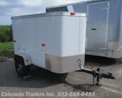 #13601 - 2017 Cargo Craft Elite V 4x7 Enclosed Cargo Trailer