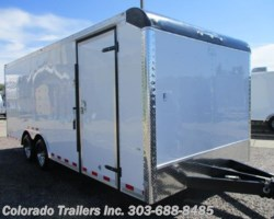#13977 - 2017 Cargo Craft Dragster 8.5x20 Enclosed Cargo Trailer