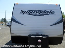 New 2016  Keystone Springdale 293RK by Keystone from Redwood Empire RVs in Ukiah, CA