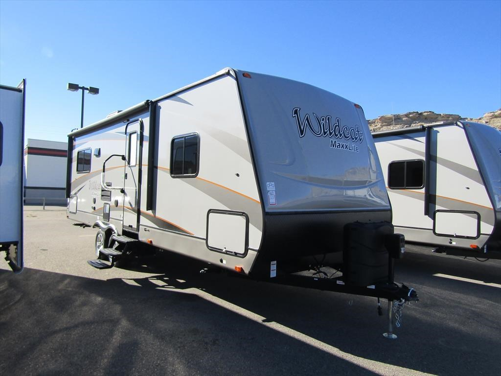 new and used rvs for in rock springs wyoming 2017 forest river wildcat maxx 255rlx