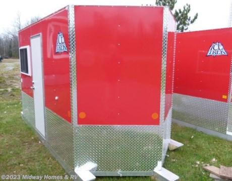 1452 17 2017 ice trek 6x10v for sale in grand rapids mn for Ice trek fish house