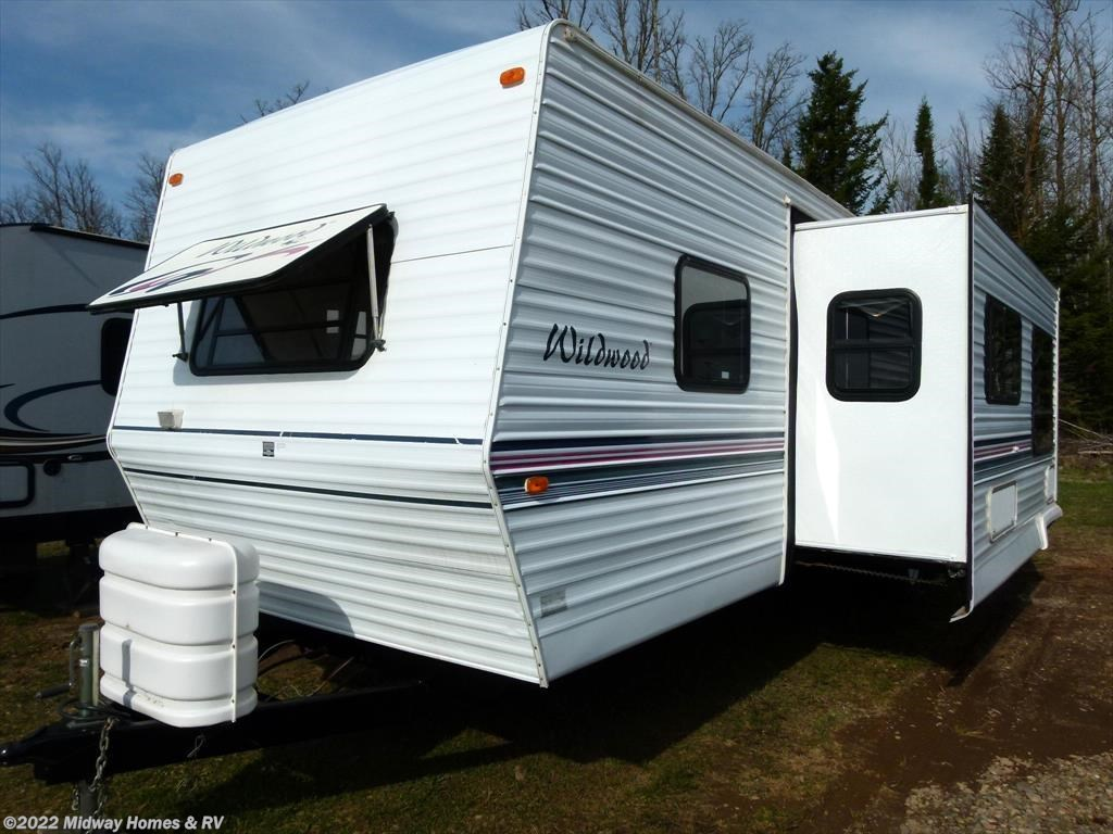Used 2000 Forest River Wildwood 37BHSS For Sale By Midway Homes RV Available In Grand