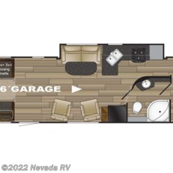 2018 Heartland Fuel 305 floorplan image