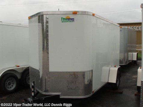 2017 Arising  6 x 10 V Nose Double Door 6'-3