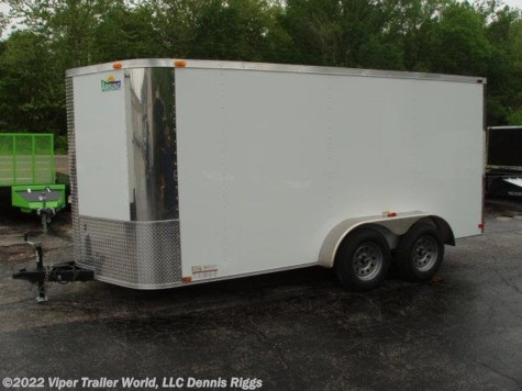 2017 Arising  7 x 14 V Nose Double Door 6'-3