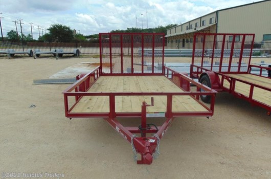 Utility  Trailer - 2017 MC Trailer 12x77 Utility Trailer available New in Helotes, TX