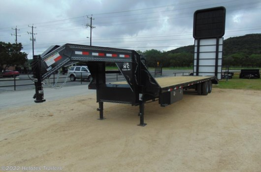 Flatbed/Flat Deck (Heavy Duty) Trailer - 2016 MC Trailer 35 x 102 GOOSE NECK available New in Helotes, TX