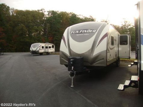 New 2017 Cruiser RV Fun Finder Signature 319 RLDS For Sale by Hayden's RV's available in Richmond, Virginia