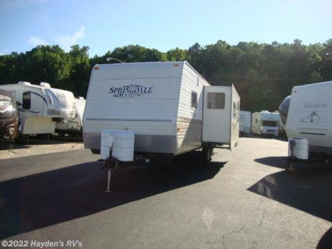 Used 2007 Keystone Springdale 290 CT For Sale by Hayden's RV's available in Richmond, Virginia