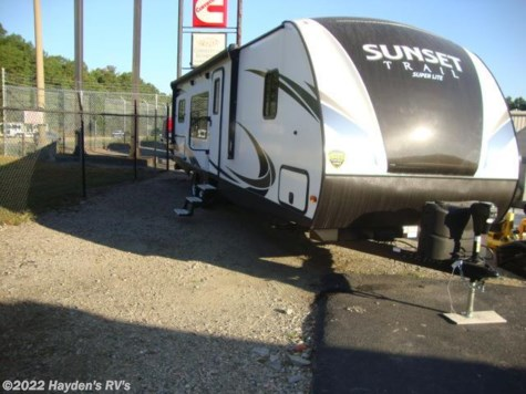 New 2018 CrossRoads Sunset Trail Super Lite 291 RK For Sale by Hayden's RV's available in Richmond, Virginia