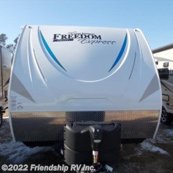 2018 Coachmen Freedom Express Pilot 19RKS  - Travel Trailer New  in Friendship WI For Sale by Friendship RV Inc. call 608-339-2300 today for more info.