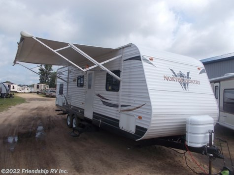 Used 2012 Heartland  North Country NC 27FQBS SLT For Sale by Friendship RV Inc. available in Friendship, Wisconsin