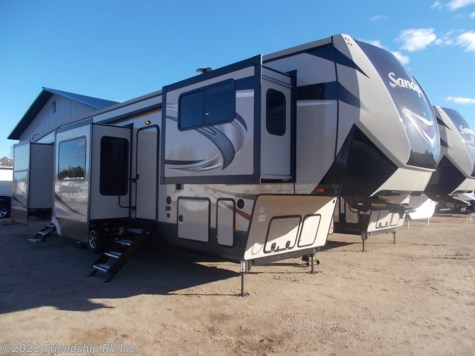 New 2019 Forest River Sandpiper 379FLOK For Sale by Friendship RV Inc. available in Friendship, Wisconsin