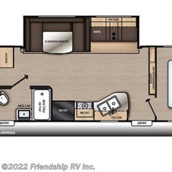 2019 Coachmen Catalina SBX 321BHDS floorplan image
