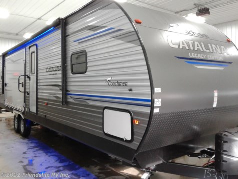 New 2019 Coachmen Catalina Legacy Edition 303RKPLE For Sale by Friendship RV Inc. available in Friendship, Wisconsin