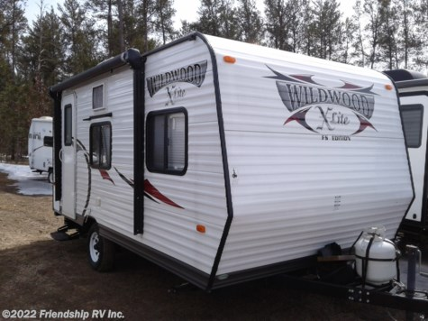 Used 2013 Forest River Wildwood X-Lite 185RB For Sale by Friendship RV Inc. available in Friendship, Wisconsin