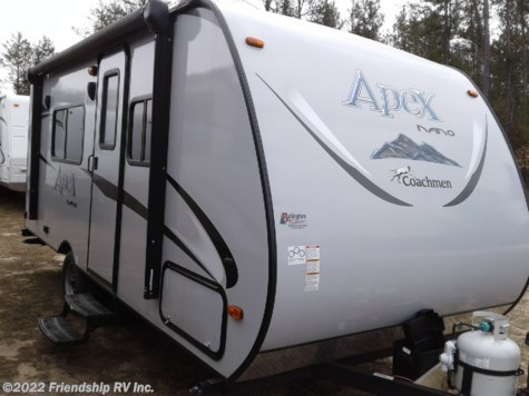 Used 2017 Coachmen Apex Nano 187RB For Sale by Friendship RV Inc. available in Friendship, Wisconsin