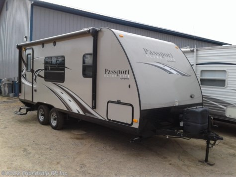 Used 2015 Keystone Passport Ultra Lite 195RB For Sale by Friendship RV Inc. available in Friendship, Wisconsin