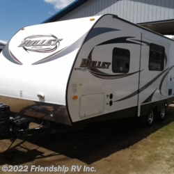 2014 Keystone Bullet Ultra Lite 212RBS  - Travel Trailer Used  in Friendship WI For Sale by Friendship RV Inc. call 608-339-2300 today for more info.