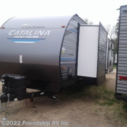 2020 Coachmen Catalina Legacy Edition 333RETSLE  - Travel Trailer New  in Friendship WI For Sale by Friendship RV Inc. call 608-339-2300 today for more info.