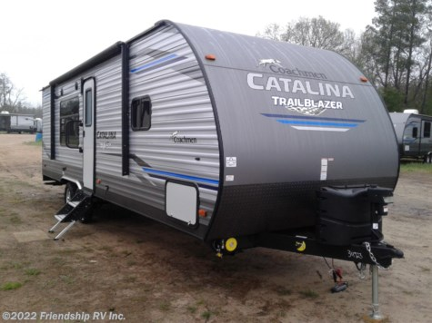 New 2020 Coachmen Catalina Trail Blazer 26TH For Sale by Friendship RV Inc. available in Friendship, Wisconsin