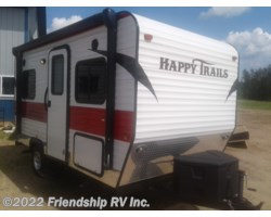 #UT1735 - 2017 Happy Trails Cozy Camper 12SDFB