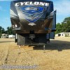 2017 Heartland RV Cyclone CY 3611 JS  - Toy Hauler New  in Woodville MS For Sale by McCants RV call 601-888-3231 today for more info.