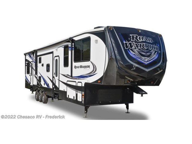 Stock Image for 2017 Heartland RV Road Warrior RW 427 (options and colors may vary)