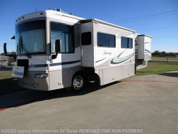 2005 winnebago rv journey 36ft 2 slides handicap for Motor homes for sale in texas