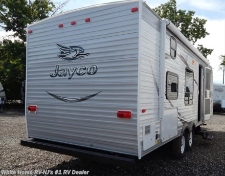 J9697 2015 jayco jay flight 26bh 2 bedroom non slideout for sale in williamstown nj for Two bedroom travel trailers for sale