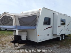 Used 2002  Jayco Kiwi 23B Sofa Slideout w/Drop Down Bed Ends by Jayco from White Horse RV Center in Williamstown, NJ