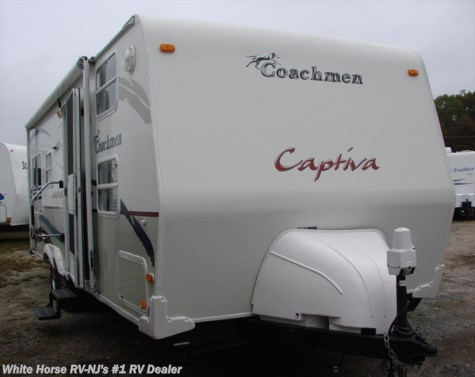 2006 Coachmen Captiva  265 EX Front Quad Bunks Rear Queen Slideout