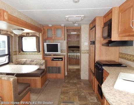 Tt10257 2008 Jayco Jay Flight G2 29rls Rear Living Room Sofa Dinette Slideout For Sale In