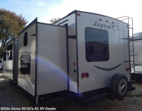 J10421 2016 jayco jay flight 32bhds 2 bedroom double slideout for sale in williamstown nj for Two bedroom travel trailers for sale
