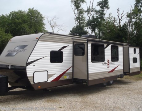 Sc10977 2017 starcraft ar one maxx 30bhu two bedroom double slideout for sale in williamstown nj for Two bedroom travel trailers for sale