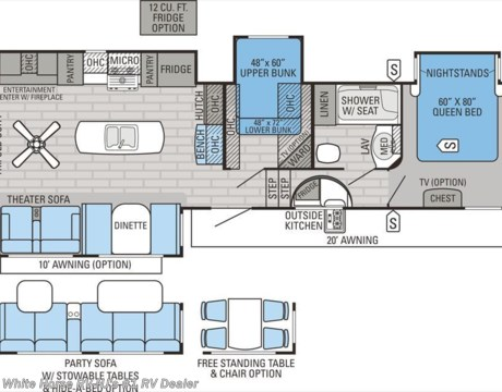 J 2016 Jayco Eagle 355MBQS Rear Living 2 Bedroom