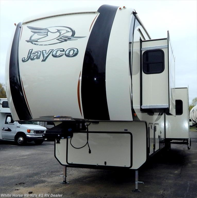 Two Bedroom Travel Trailer: 2016 Jayco RV North Point 375BH Two Bedroom Five Slideouts