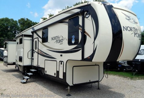2017 Jayco North Point  375BH Two Bedroom Five Slideouts