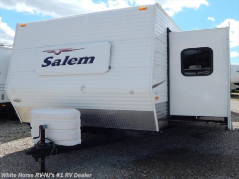 2007 Forest River Salem  362FKDS Rear King Double Slide