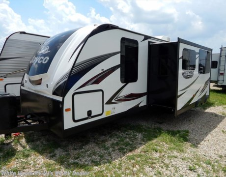J10906 2017 jayco white hawk 28dsbh two bedroom sofa dinette slideout for sale in williamstown nj for Two bedroom travel trailers for sale