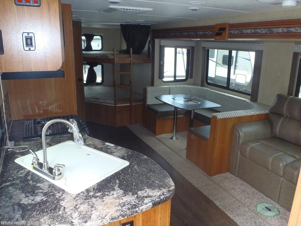 rv launch ultra lite 27bhu two bedroom u dinette sofa slideo for sale