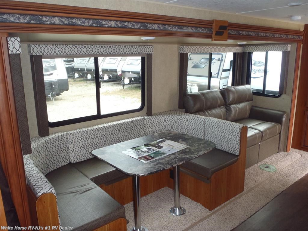 2017 starcraft rv launch ultra lite 27bhu two bedroom u dinette sofa slideo for sale in for Two bedroom travel trailers for sale