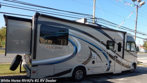 2016 Thor Motor Coach Vegas  25.2 Rear Queen Bed Slide