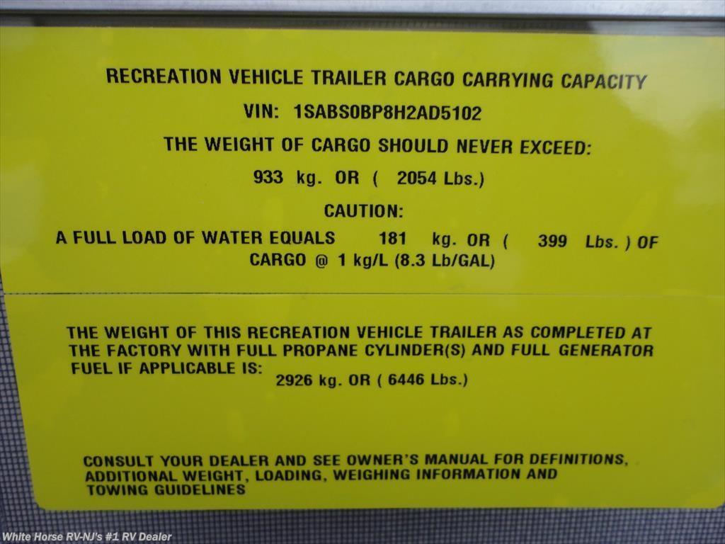 2017 Starcraft RV AR ONE MAXX 27BHS Two Bedroom U DinetteSofa Slide For Sale In Williamstown