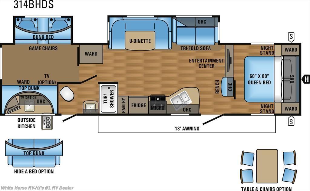 J11436 - 2017 Jayco Eagle HT 314BHDS Two Bedroom Double Slideout ...