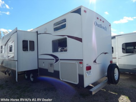 2008 Keystone Outback Sydney Edition  31RQS Quad Bunk, Sofa/Dinette Slide-out