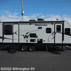 2019 Winnebago Minnie 2500FL/New Fiberglass Front Cap  - Travel Trailer New  in Wilmington NC For Sale by Wilmington RV call 877-843-1338 today for more info.
