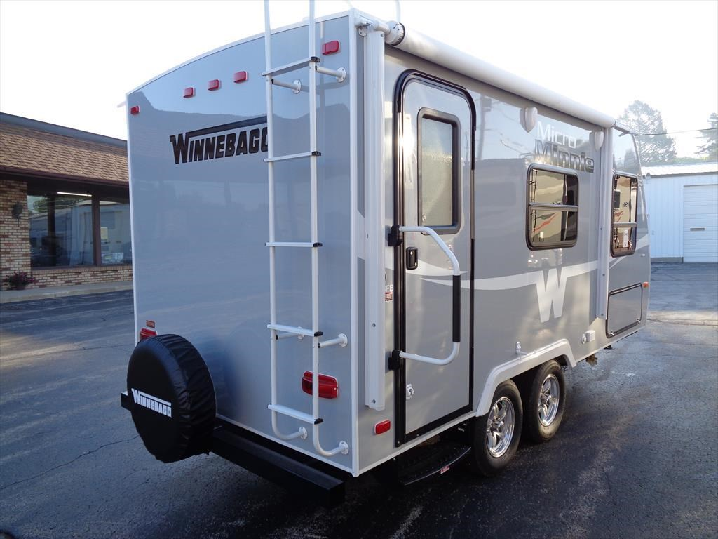 Elegant 2017 Winnebago Micro Minnie 1700BH Travel Trailers RV For Sale In