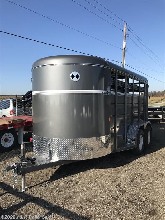 2017 CornPro 14' Stock Trailer